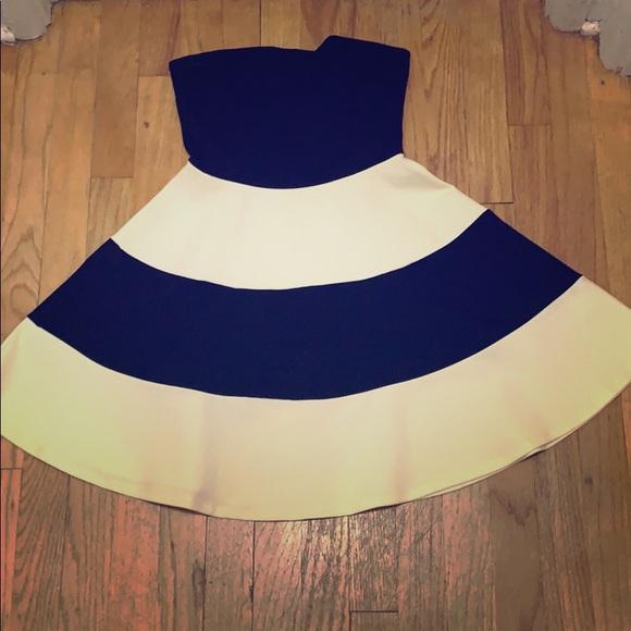 Solemio Dresses & Skirts - Black and White Dress